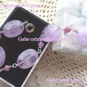 紫~オーダーアクセサリー