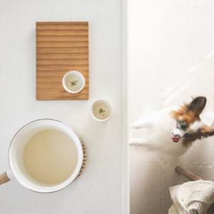 犬おやつレシピ☆じゃがいもと豆乳のポタージュ