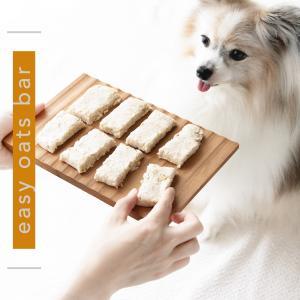 レンジで1分!焼かない犬用オートミールバー|手作り犬おやつレシピ