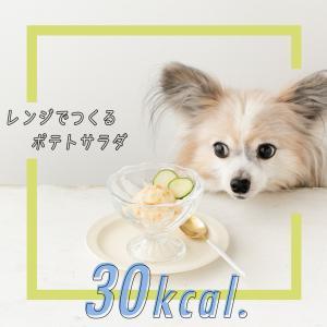 【30kcal】レンジで2分!超簡単犬用ポテトサラダの作り方(手作り犬おやつレシピ)