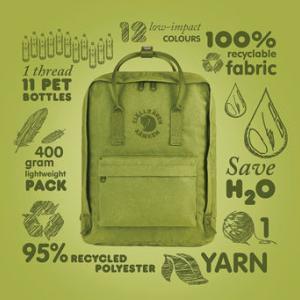 約11本のペットボトルから作られたバッグ