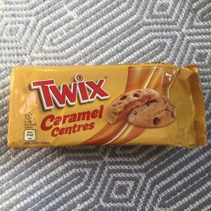 アイルランドで普通に売っている物 ~Twix Caramel Centres
