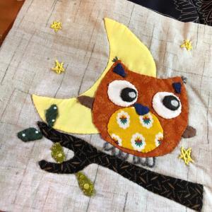 パートナーシップキルトに出す生徒さんの作品が出来ました。