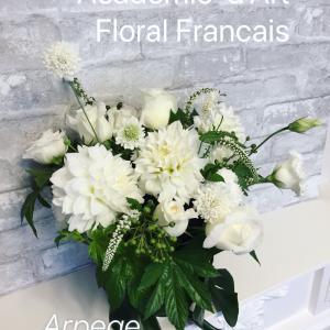 お花で国際交流