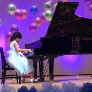 【プライベート】娘のピアノ発表会♪