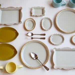和洋問わず食卓を豊かに彩る「sen frame」シリーズが再入荷しました。