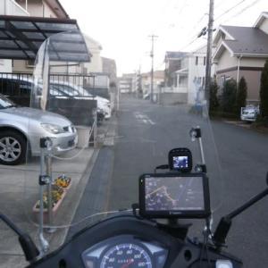 小型スクーターに カーナビ と ドライブレコーダーを取り付けてみました。