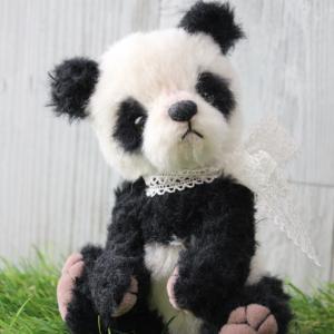ちんまりベビーパンダちゃん誕生しました(*^_^*)