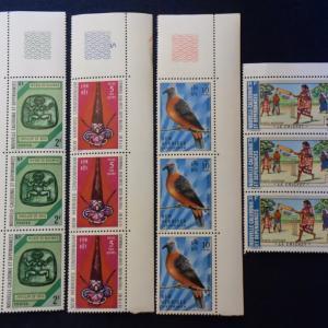 ニューカレドニアの切手、おみやげに買った唯一のもの