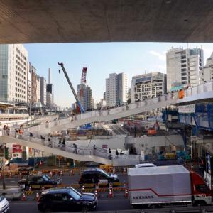 渋谷区桜丘の再開発で大変!、明日は東急プラザがオープンするし