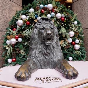銀座、三越銀座店のライオン像、「TIFFANY&Co.」のショーウィンドウ、銀座発祥の碑