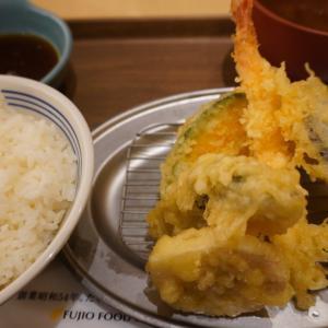天ぷら、「えびのや」、八重洲、揚げたて、安い、うまいてんぷら屋、明太子食べ放題