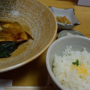 「花ぶさ」、池波正太郎さん、贔屓の料理屋、外神田、さばの山椒煮と御飯セット、菜の花御飯