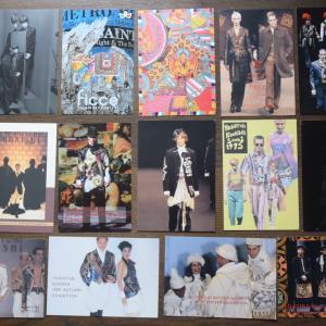 ポストカード・コレクション、小西良幸、佐藤孝信、細川 伸、1980年代メンズファッション