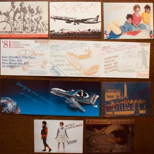 ポストカードコレクション、「SCOOP」、「SCOOPMAN」、「HERMES(エルメス)」