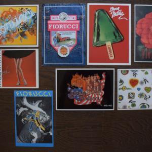 ポストカード・コレクション、「FIORUCCI」、1980年代に人気だった「フィオルッチ」