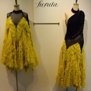 """古田由佳利さん、""""furuta""""ブランド、ユーミン、舞台衣装、テーマカラーは黄色、ドレスを日常に"""