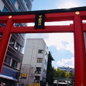 稲荷町駅から上野駅までの散策、下谷神社、比留間歯科醫院、上野駅前歩道橋のアート