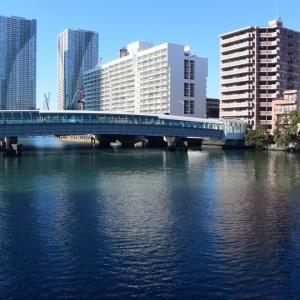 トリトンブリッジ、晴海通り、黎明橋、月島川、月島橋、朝潮運河、晴海トリトンスクエア