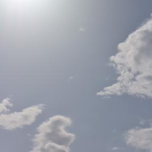 朝8時の東の空、先週のような最高気温20度超えの日がなく平年並みの1週間だった