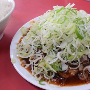 亀戸3丁目の中華料理屋「菜苑」で初めて純レバ炒めとご飯を食べたが旨いのなんのの甘辛味だった