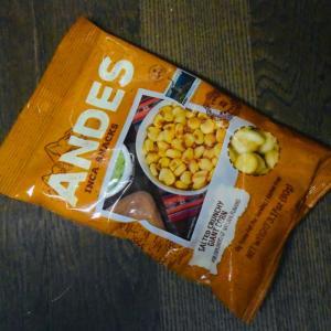 """「ANDES」というペルー産スナックの""""ジャイアントコーン""""を2か月ぶりに買えたが旨い!"""