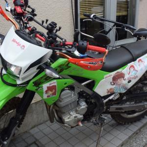 深川江戸資料館通りで痛バイクとか痛単車を見かけたがよほどウェンディーズのハンバーグ好きかそれとも
