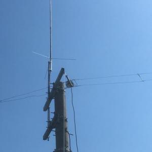7MHz帯 3λ/4 FDダイポールアンテナの製作④