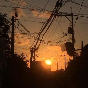 彼岸の日の出