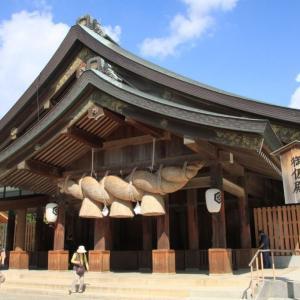 旧暦10月の出雲は神在月(カミアリヅキ)カラサデサンが吹く