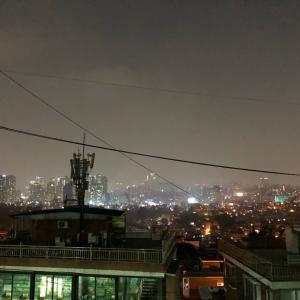 解放村の夜景を一望出来るカフェ!doodoong♪