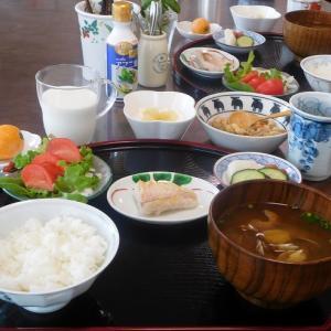 甘鯛の塩焼きとアサリの味噌汁