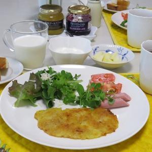 チーズとジャガイモのカリカリ焼き