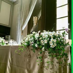 三連休初日は結婚式