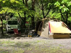 2019GWキャンプin不動の滝自然広場オートキャンプ場 1日目