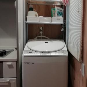 梅雨に大活躍の洗濯機!