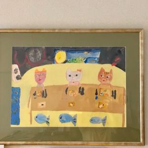 子どもの思い出の絵を、インテリアに変身!Co-fitチャンネルお楽しみに!