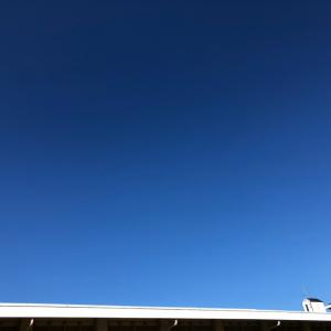 運動会日和の秋晴れの一日
