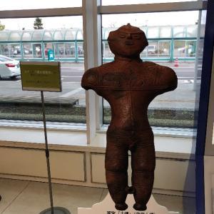 実は木古内町にも縄文遺跡が☆函館空港内で「縄文遺跡群」の展示を見てきたよ~!!