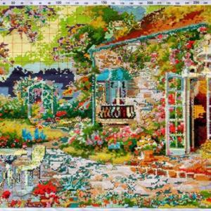 クロスステッチ刺繍キット花庭園・オーストラリア一周(ドリーム・ワールド)