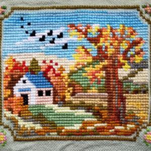 秋と夏の風景&チューリップと桜