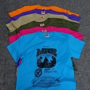 MRE レーションTシャツ新色追加しました。
