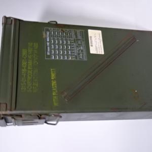 81mm迫撃砲弾スチール弾薬箱とか