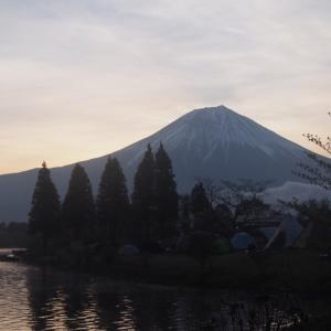 田貫湖キャンプ場④ 2日目の朝♪
