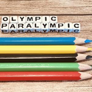 オリンピック応援ネイル