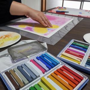 【パステルアート講座】本当にずっと色なんだね!