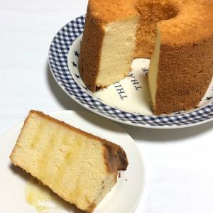 台風と レモンシフォンケーキも!