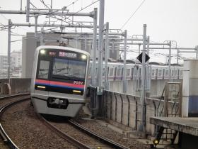京成3051編成塗装変更終了・京成本線での運用開始
