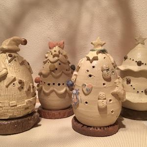 陶器のクリスマスツリー作り2019♪