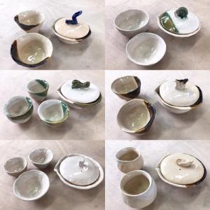 茶器作りと手揉み茶体験